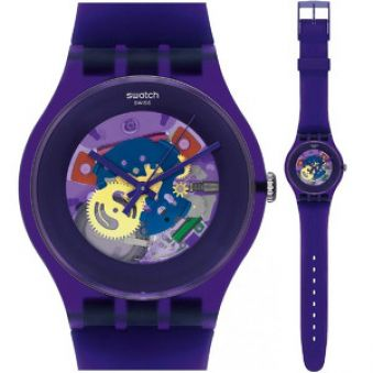 Swatch Purple Lacquered SUOV100 AKCE + 3 roky