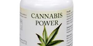 Natural Medicaments Cannabis Power konopné kapsle