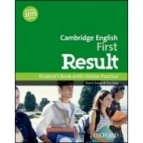 Cambridge English First Result Student´s Book +
