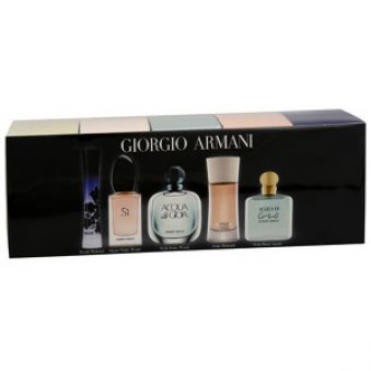 Armani Mini set - Acqua di Gio EDT 5 ml + Mania