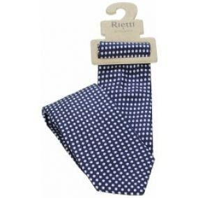 Rietti Jeans & Silk Dark Blue/White Dot
