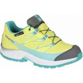Salomon Wings CSWP J CitrusX/White/Teal Blue F
