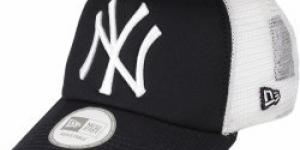 New Era Netrucker Clean New York Yankees