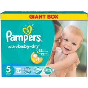 Pampers Plienky GPP Junior 78ks
