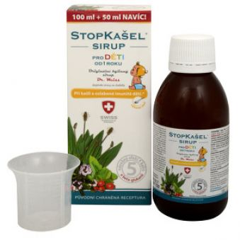 Simply You StopKašel sirup Dr. Weiss pre deti 100