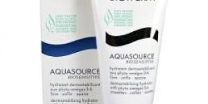 Biotherm Aquasource Biosensitive Face Cream 50 ml