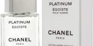 Chanel Platinum Egoiste voda po holení 75 ml