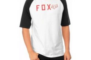 Fox Kill Shot Ss Raglan vintage white