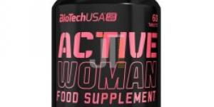 BioTech USA Active Woman 60 tabliet