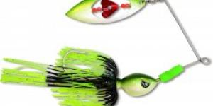 Black Cat blýskač Big Spinner Bait 100g black wave