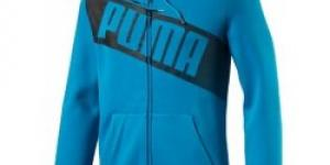 Puma FUN BIG LOGO Hd Sweat JktFL atomic blue