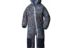 COLUMBIA Hot Tot Suit Faded Sky Snow Splatter