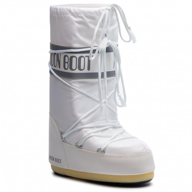 Snehule MOON BOOT - Nylon 14004400006 Bianco