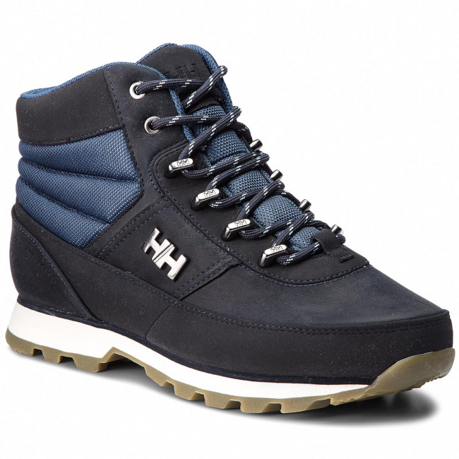 Trekingová obuv HELLY HANSEN - Woodlands 108-07.598 Navy/Vintage Indigo/Off White