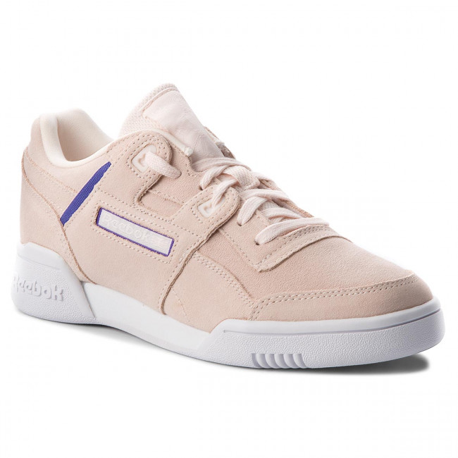 Topánky Reebok - Workout Lo Plus CN5524 Pale Pink/Purple/White