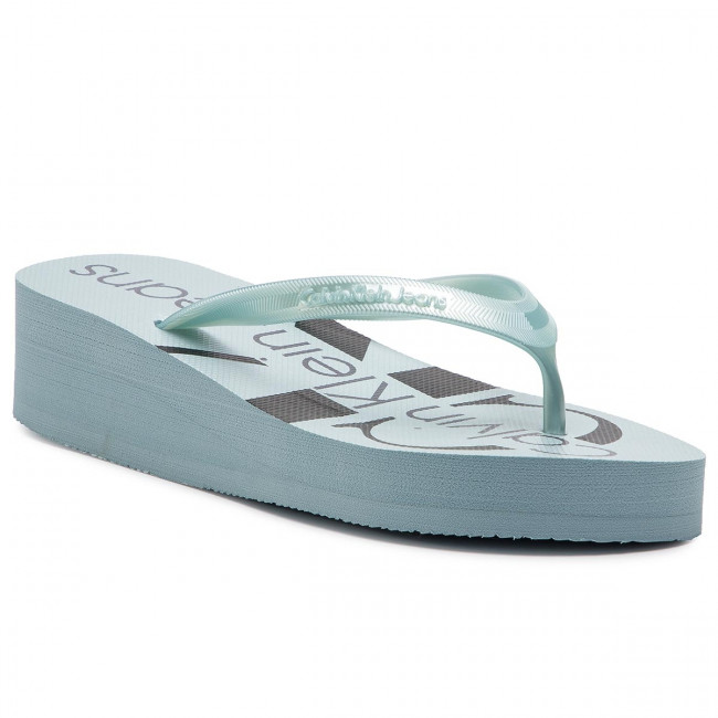 Žabky CALVIN KLEIN JEANS - Tesse RE9856 Icy Blue