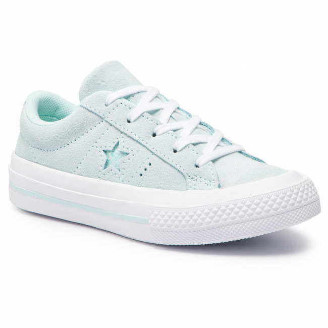 Tenisky CONVERSE - One Star Ox 663590C Teal Tint/Teal Tint/White
