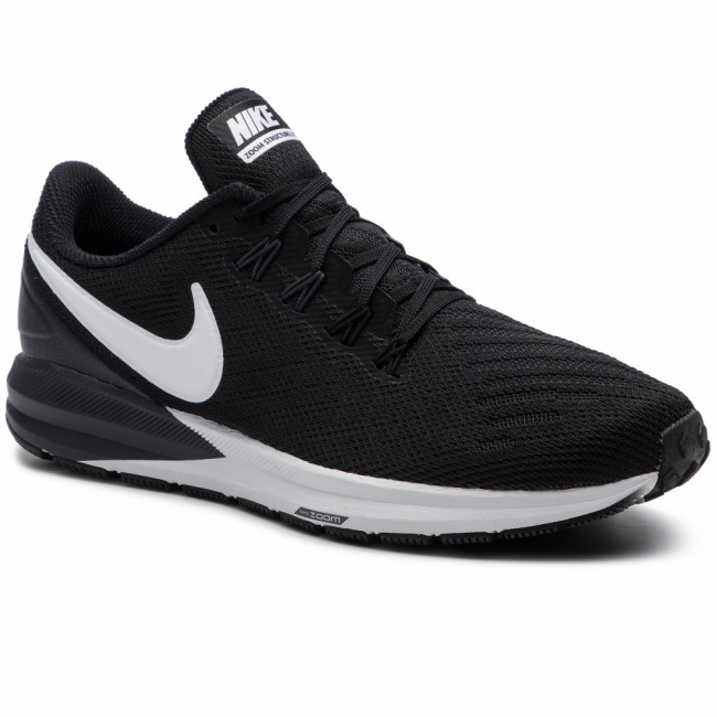 Topánky NIKE - Air Zoom Structure 22 AA1640 002 Black/White/Gridron
