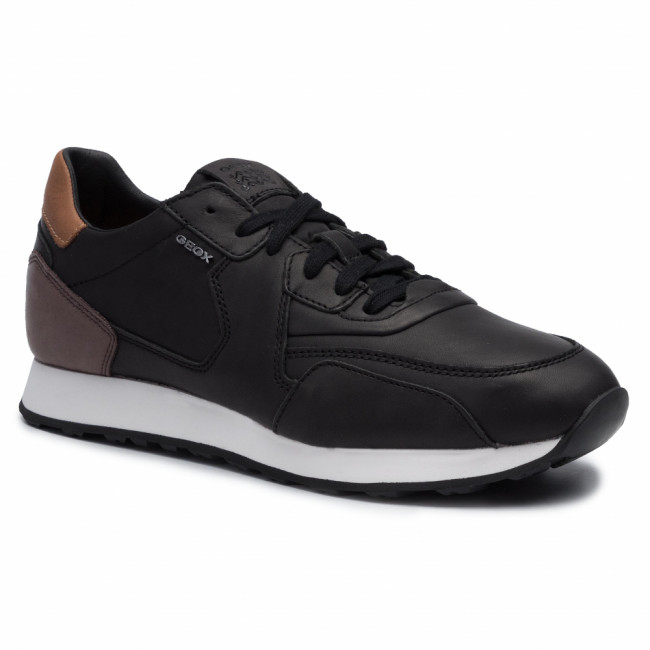 Sneakersy GEOX - U Vincit E U945VE 00043 C0630 Black/Coffee
