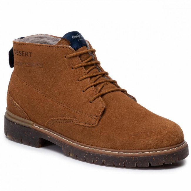 Outdoorová obuv PEPE JEANS - Cobalt Desert PBS50079 Tabacco 859