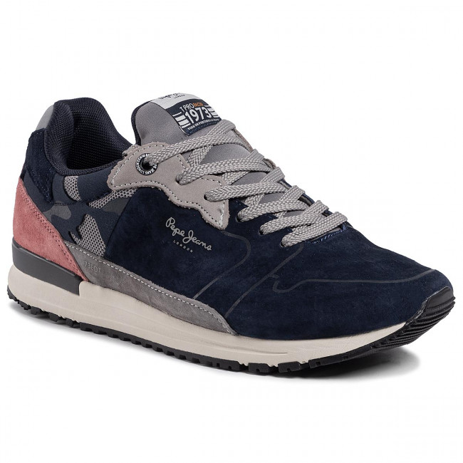 Sneakersy PEPE JEANS - Tinker Pro Racer PMS30583 Navy 595