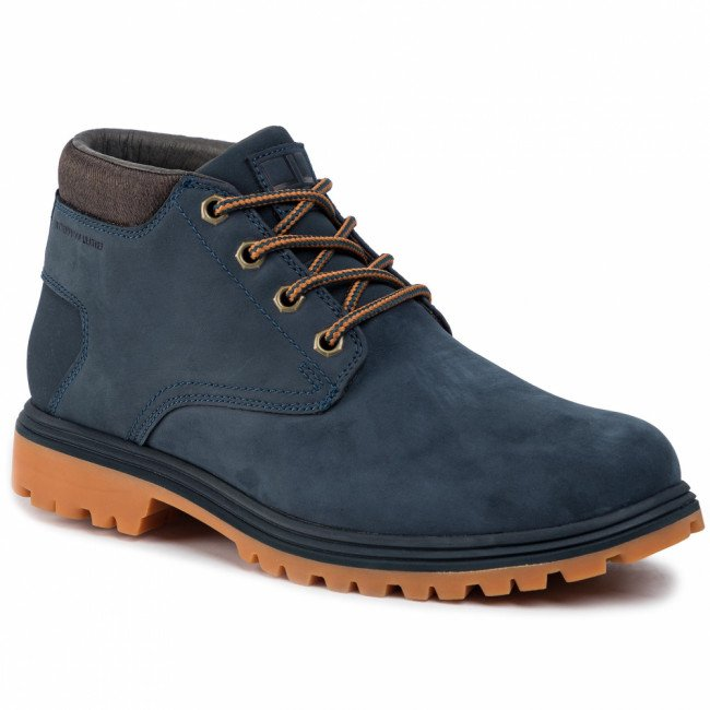 Trekingová obuv HELLY HANSEN - Saddleback Chukka 115-26.597 Navy/Espresso/Light Gum