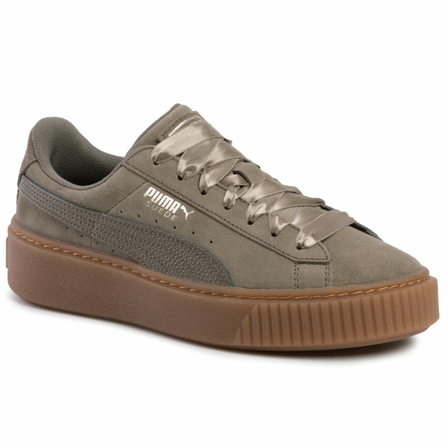 Sneakersy PUMA - Suede Platform Bubble Wn's 366439 03 Bungee Cord