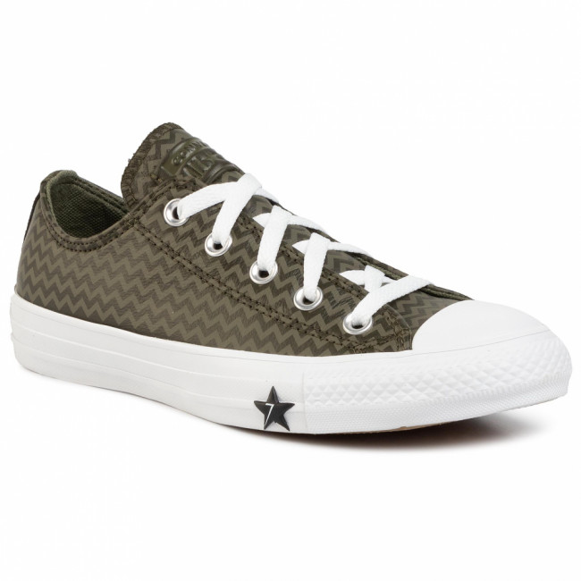 Tramky CONVERSE - Ctas Ox 566131C Utility Green/Field Surplus