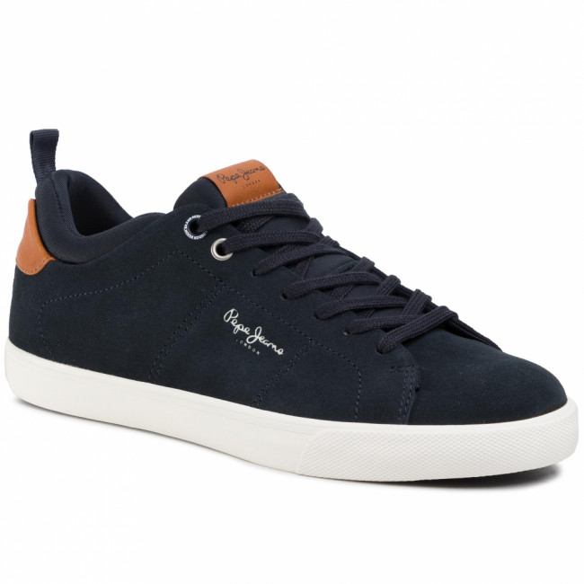 Sneakersy PEPE JEANS - Marton Suede PMS30557 Navy 595