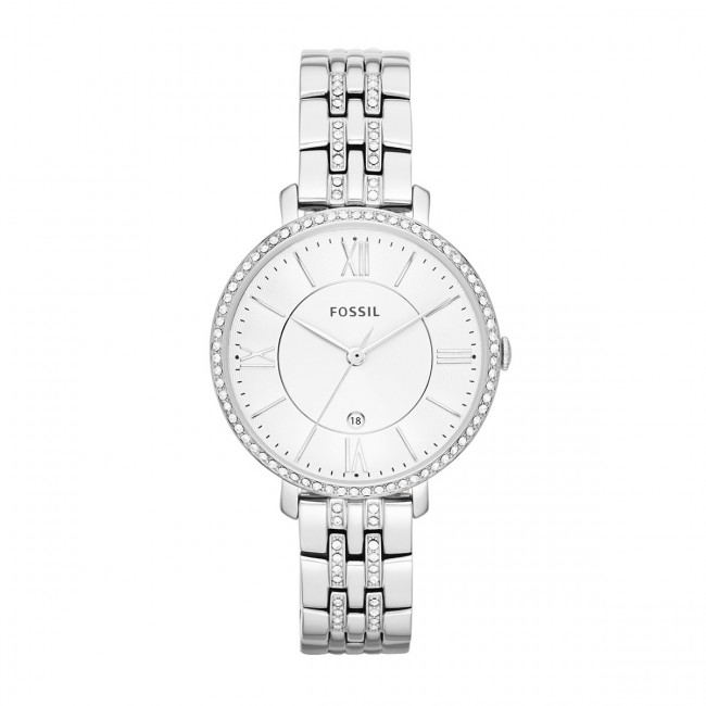 Hodinky FOSSIL - Jacqueline ES3545 Silver/Steel/Silver