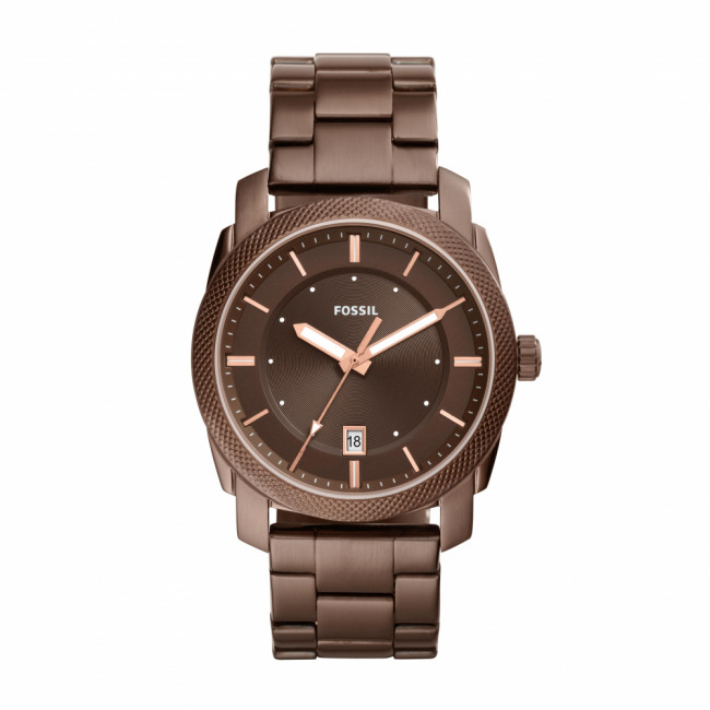 Hodinky FOSSIL - Machine FS5370 Brown/Brown