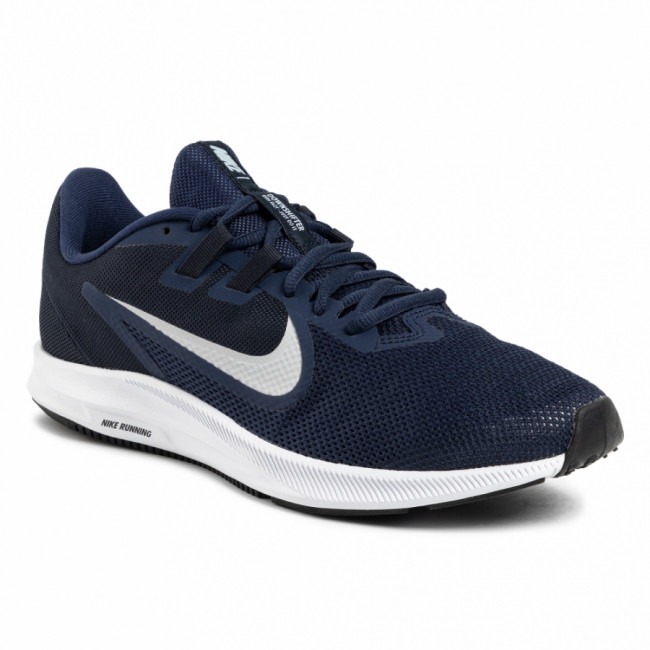 Topánky NIKE - Downshifter 9 AQ7481 401 Midnight Navy/Pure Platinum