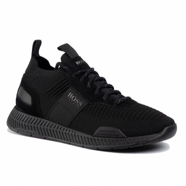 Sneakersy BOSS - Titanium 50414734 10220052 01 Black 001