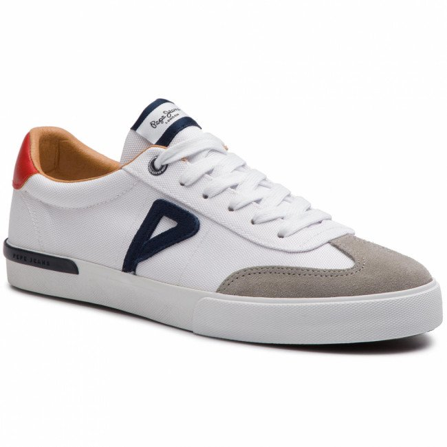 Sneakersy PEPE JEANS - North Archive PMS30532 White 800