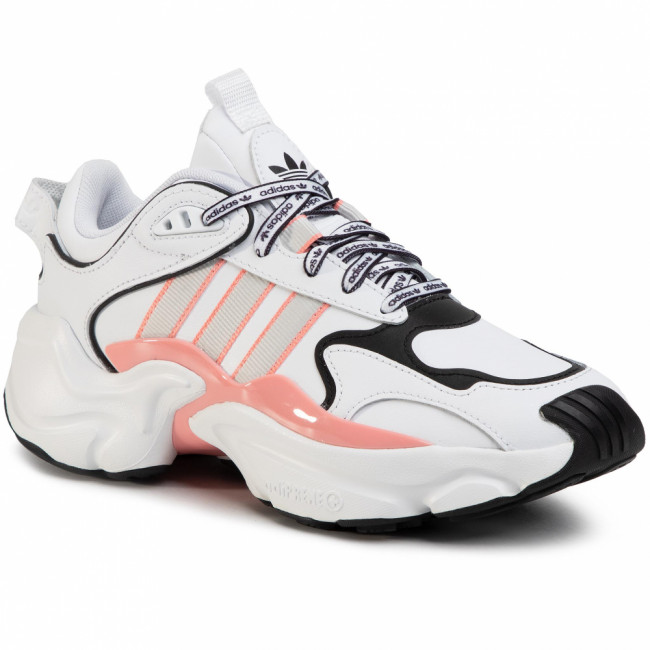 Topánky adidas - Magmur Runner W EG5435 Ftwwht/Greone/Glopnk