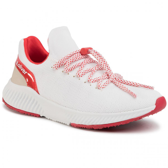 Sneakersy S.OLIVER - 5-23600-34 White/Red 155