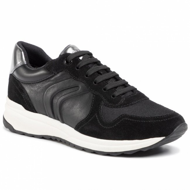 Sneakersy GEOX - D Airell C D022SC 08522 C9999 Black