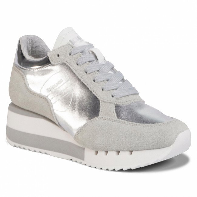 Sneakersy BLAUER - S0CHARLOTTE04/LAM Silver
