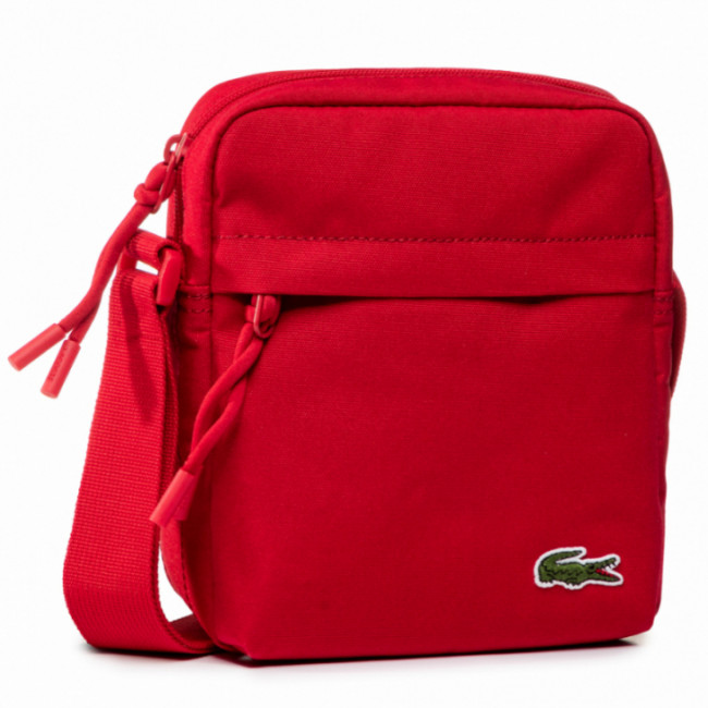 Ľadvinka LACOSTE - Vertical Camera Bag NH2102NE Tango Red