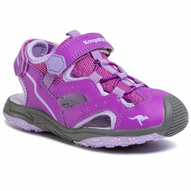 Sandále KANGAROOS - K-Cali 18336 000 6131 Purple/Powder Purple