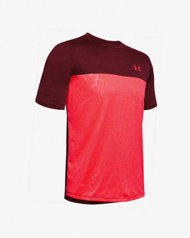 Under Armour Tech™ 2.0 Emboss Tričko Červená