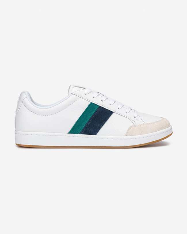 Lacoste Carnaby Ace Tumbled Tenisky Biela