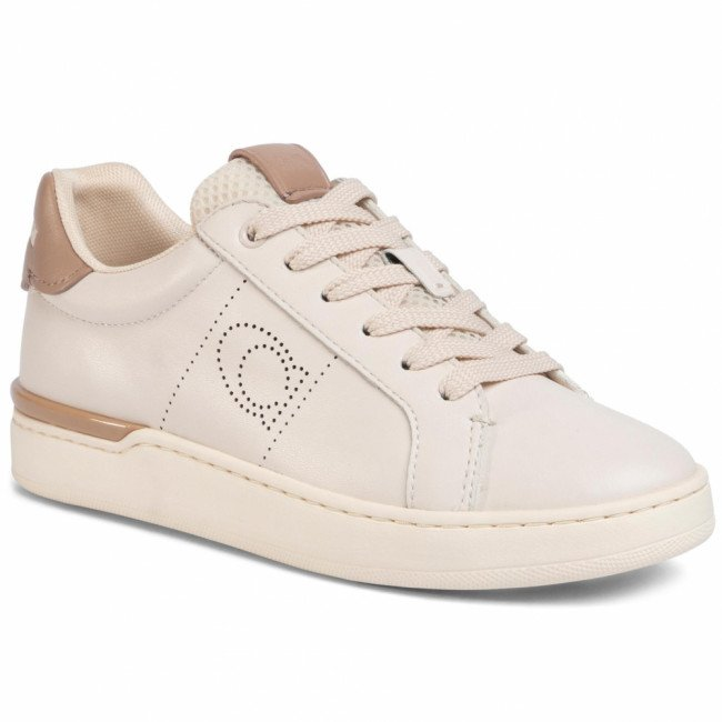 Sneakersy COACH - Lowline Ltr Low Top G5039 10011275 Chalk/Taupe