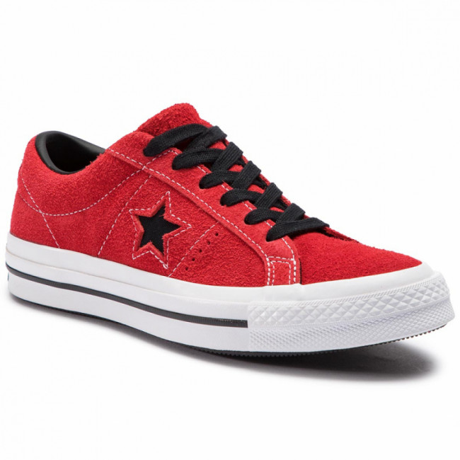 Tenisky CONVERSE - One Star Ox 163246C Enamel Red/Black/White
