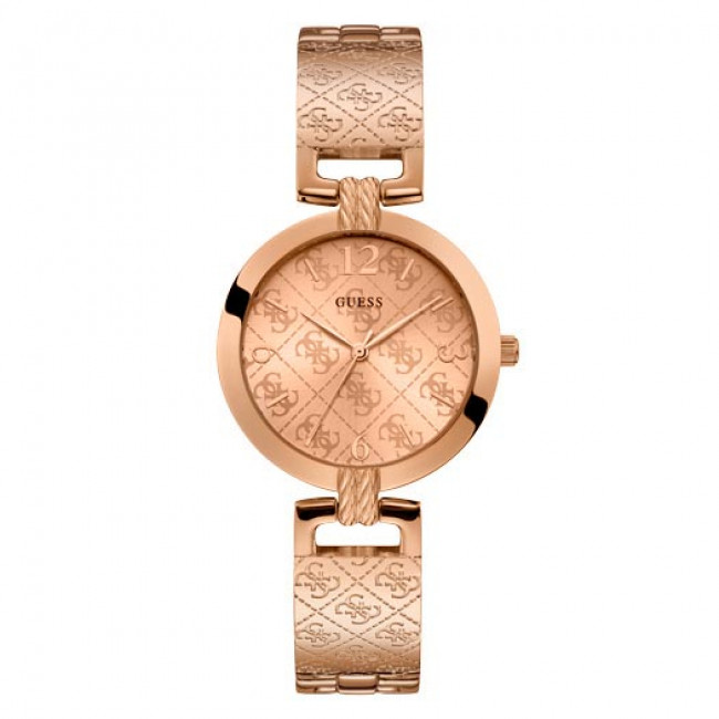 Hodinky GUESS - G Luxe W1228L3 ROSE GOLD/ROSE GOLD