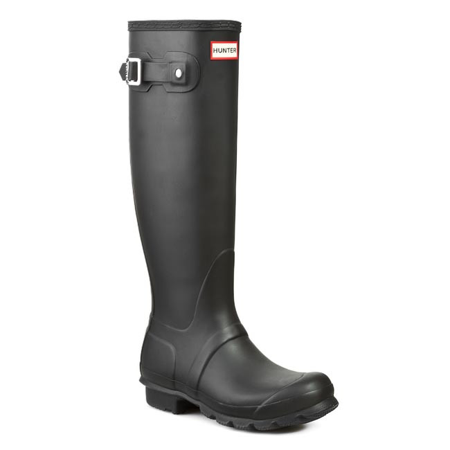 Gumáky HUNTER - Womens Org Tall WFT1000RMA Black