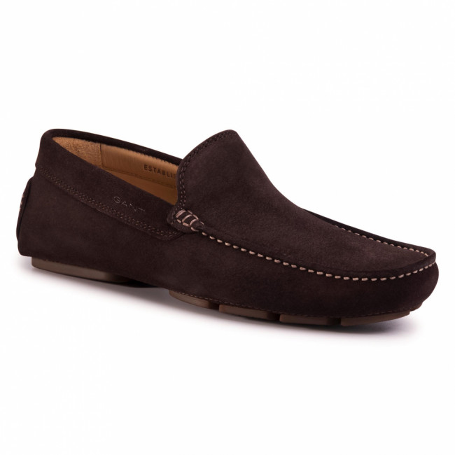 Mokasíny GANT - Nicehill 20673466  Dark Brown G46