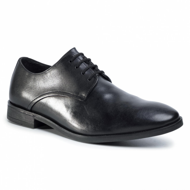 Poltopánky CLARKS - Stanford Walk 261478937 Black Leather