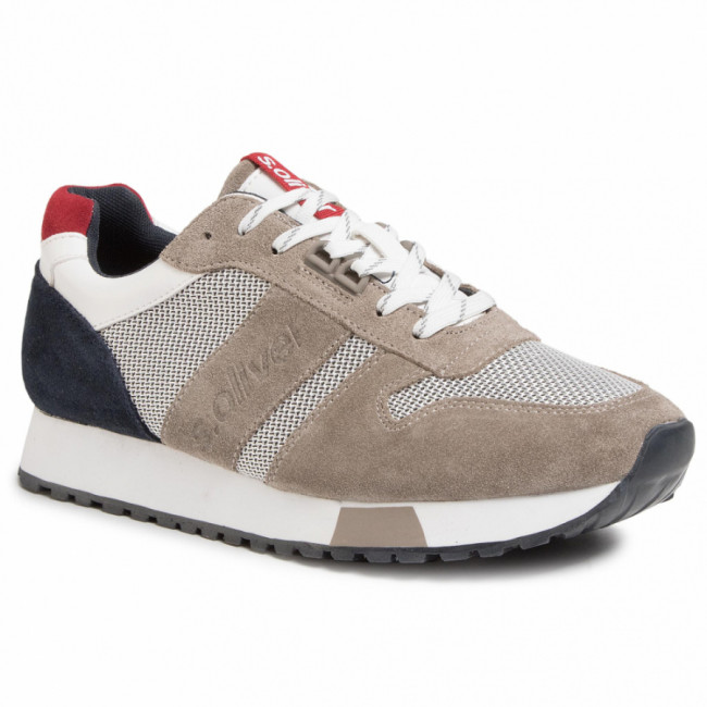 Sneakersy S.OLIVER - 5-13614-24 Grey Comb 201