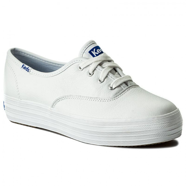 Tenisky KEDS - Triple Leather WH55748 White